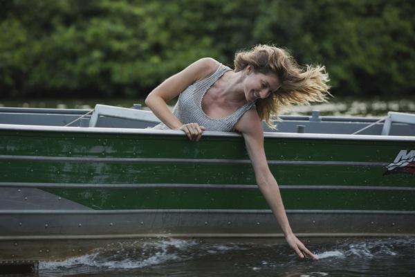 Preocupada com o meio ambiente, a ex-modelo apresenta 'O planeta em perigo' (National Geographic/Divulgação)