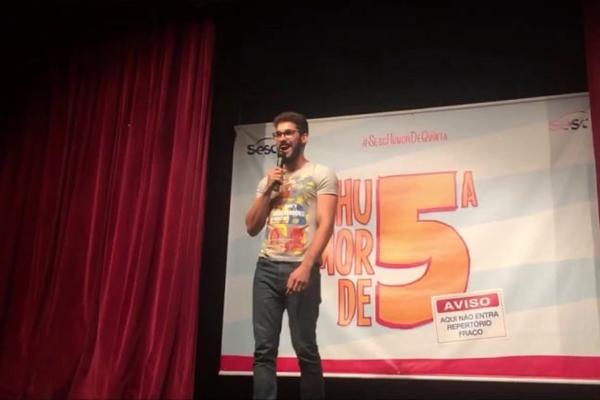 Fernando Sardinha saiu do YouTube para os palcos (Reprodução/Internet)