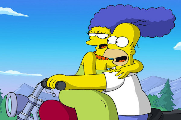 Marge e Homer Simpson (Reprodução/Internet)