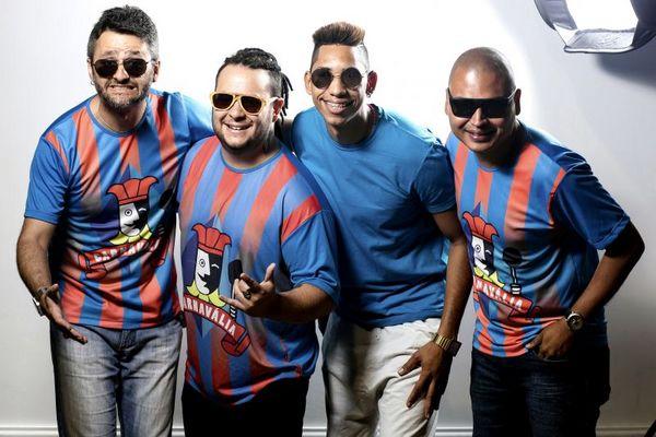 A banda 'Carnavália' é uma das atrações do evento (Bruno Rios/Divulgação)