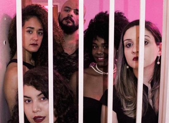 O elenco de 'Tango no presídio' é dirigido por Victor Marchezoni (Alisson Gonçalves/Divulgação)