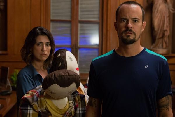 Paulo Vilhena e Fernanda Paes Leme vivem um casal em crise (Reprodução/Internet)