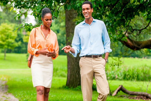 Realidade com cara de conto de fadas em Michelle e Obama (Reprodução/Internet)