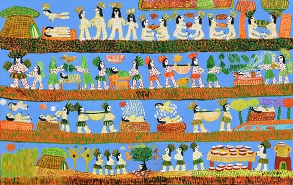 A mostra reúne cinco esculturas e 30 pinturas que hoje pertencem ao Instituto Antônio Poteiro (Antônio Poteiro/Divulgação)