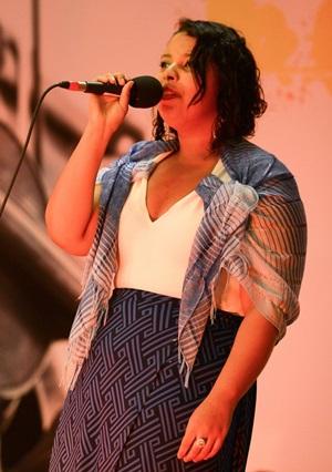 Denise Oliveira é uma das artistas que se apresentam no Novas Vozes de Brasília. (Marcello Casal Jr/Agência Brasil)