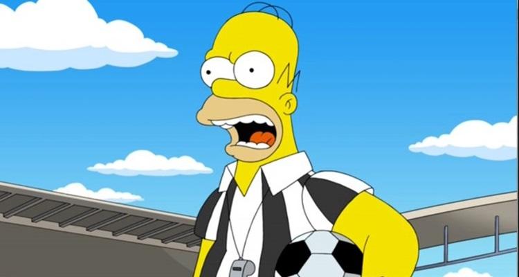 A Copa de 2014 foi assunto de 'Os Simpsons': comédia atual (Fox/Divulgao)