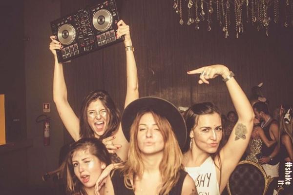 O coletivo de DJs New Chicks On The Block comandará o som  (Arquivo Pessoal)