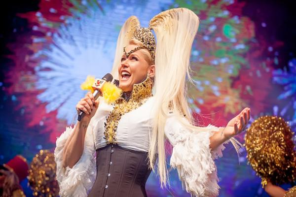 No 'Chá da Xuxa', a Rainha dos Baixinhos lembra sucessos como Ilariê (Reprodução/Internet)
