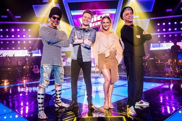 Uma das opções é o programa 'The voice' que já está na quinta temporada na tevê brasileira (João Miguel Jr./TV Globo)