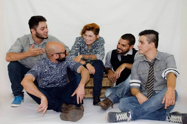 Banda se apresenta no forró Ispilicute (Zagne Produções e Eventos/Divulgação)