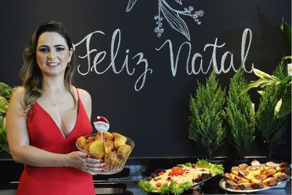 Patrícia Kelen: salpicão de frango e rabanada são especialidade do Quitinete Gourmet. Leve para casa os dois pagando abaixo de R$ 150 (Marcelo Ferreira/CB/D.A Press )