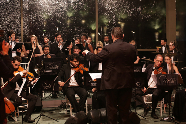 Músicas natalinas estão no repertório do grupo Tocatta (Toccata/Divulgação)
