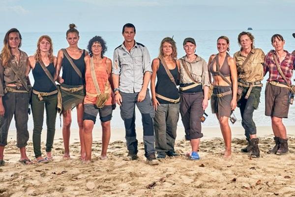 Em Ilhados com Bear Grylls, mulheres enfrentam dificuldades  no Pacífico (Discovery/Divulgação)