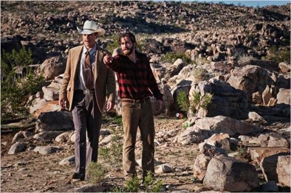 Michael Shannon e Jake Gyllenhall em 'Animais noturnos': trama carregada de dramaticidade (Universal Studios/Divulgação)