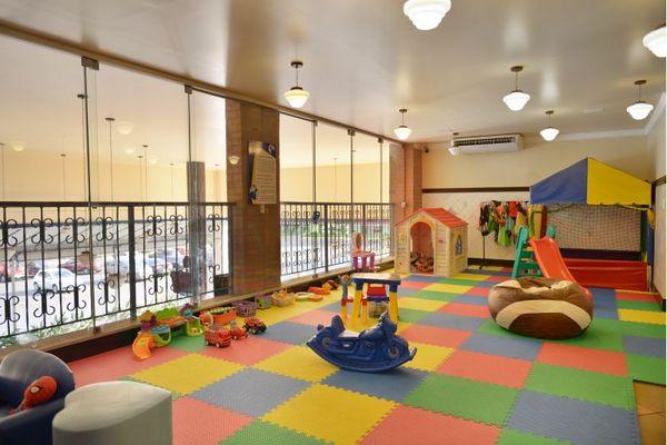 Área de brinquedoteca do Resenha Bar e Restaurante (Resenha Bar e Restaurante/Divulgação)