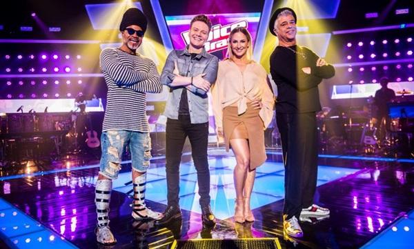 'The voice' ficou em segundo lugar na enquete que escolheu os realities preferidos dos leitores do  Correio ( João Miguel Jr./TV Globo)