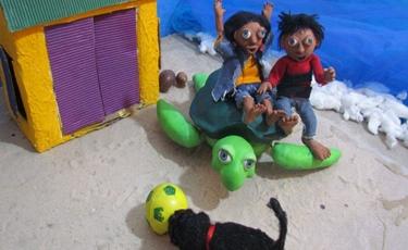 Cena do filme 'A tartaruga mágica' (Marta Azevedo/FIPC)