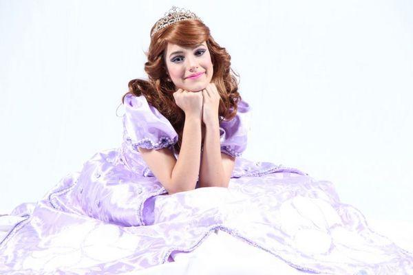 Espetáculo 'Princesinha Sofia' abre a programação teatral de janeiro no Pátio Brasil (Paki Produções/Divulgação)