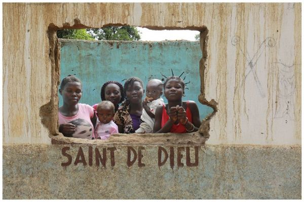 Marilu Cerqueira registrou o cotidiano de habitantes da República Centro- Africana (Marilu Cerqueira/Divulgação)