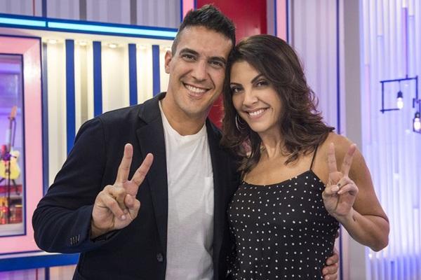 A novidade está entre os apresentadores, com André Marques e Thalita Rebouças, que substituem Tiago Leifert e Kika Martinez, respectivamente (Caiua Franco/Divulgação)