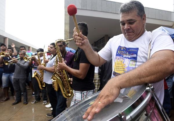 Bloco Virgens da Asa Norte terá prévia carnavalesca no Espaço Secreto  ( Ed Alves/CB/D.A Press)