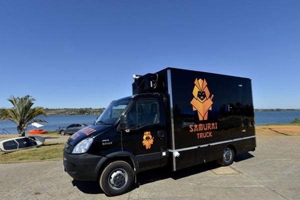 O Samurai truck serve iguarias orientais (Gustavo Moreno/CB/D.A Press)