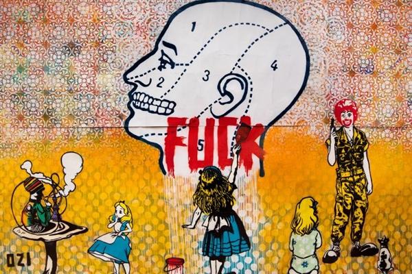 A arte urbana brasileira tem panorama traçado na Caixa Cultural (Zeca Caldeira/Divulgacao)