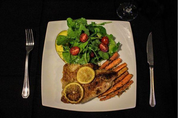 O peixe é a aposta do chef Raphael Medeiros, no Medida Provisória (Arthur Menescal/Esp. CB/D.A Press)