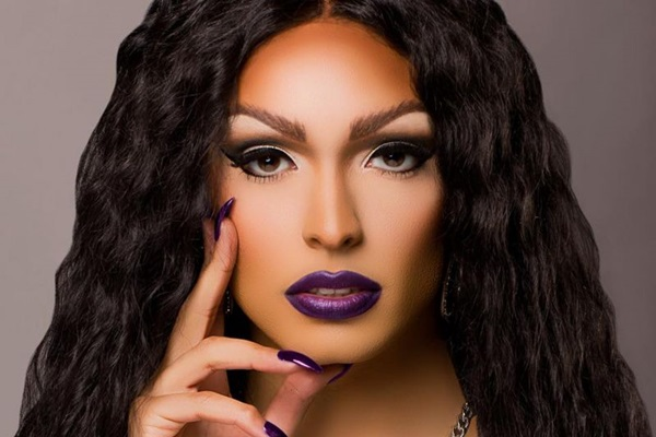 Drag queen Tatianna, do reality RuPaul's Drag Race (WoW/Divulgação)