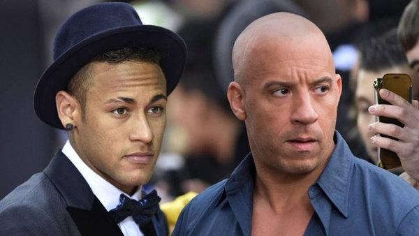 O jogador Neymar faz uma ponta como ele mesmo em  xXx: Reativado (George Kraychyk/Paramount Pictures)