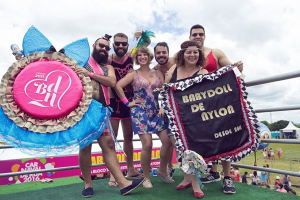 Babydoll de Nylon faz prévia amanhã para arrecadar verbas a fim de sair com o bloco na rua no carnaval  (Fernanda Furtado/Divulgação)