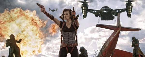 Milla Jovovich estrela mais um 'Resident evil' (Sony Pictures/Divulgação)