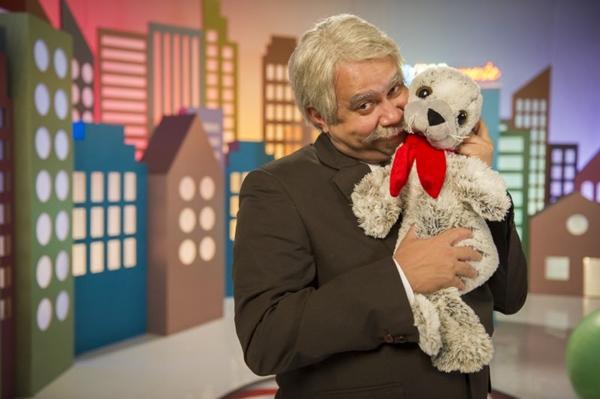 O comediante Welder Rodrigues está de volta na quarta temporada de 'Tá no ar' (João Cotta/TV Globo)