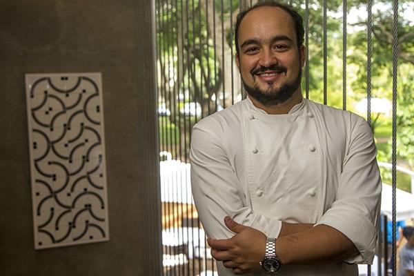 Chef Marcelo Petrarca, do restaurante Bloco C (Agenda KB/Divulgação)