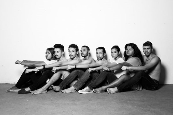 Jovens atores da Estrutural integram o elenco do projeto  (Diego Bresani/Divulgação)