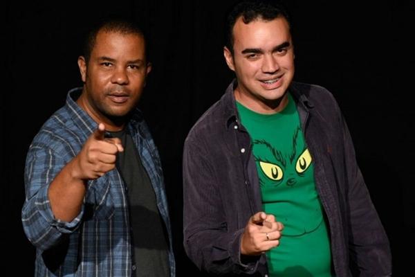 Alexandre Soca e Raphael da Matta fazem humor com toques realistas (Telmo Ximenes/Divulgação)