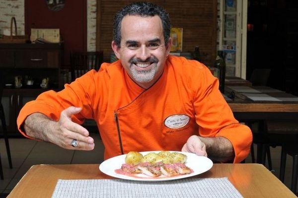 'Eu me inspirei em um prato que vi na França' (Helio Montferre/Esp. CB/D.A Press)