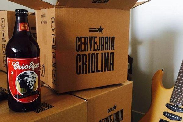 Cerveja Criolipa, a primeira criada pela cervejaria Criolina (Reprodução/Instagram)
