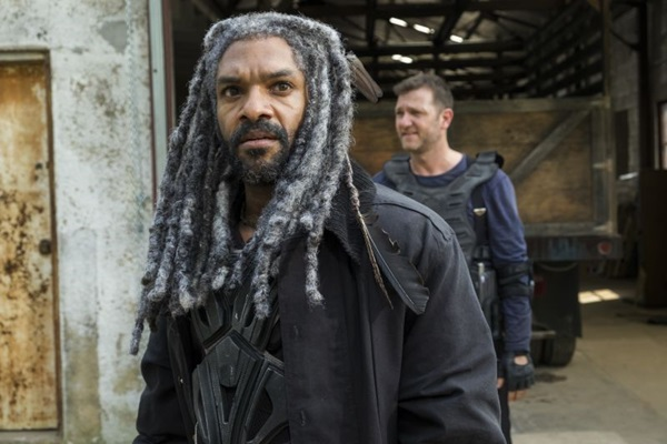 Rei Ezekiel será o personagem que ganhará espaço nos novos episódios  (Gene Page/AMC)