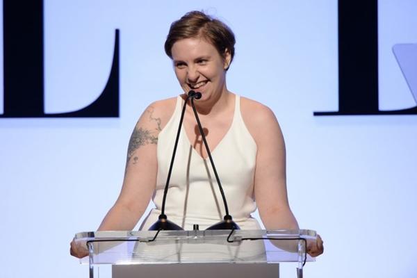 A atriz Lena Dunham foi indicada a vários prêmios pela  série 'Girls' (Michael Kovac)