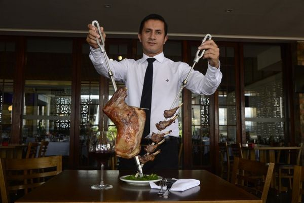 Rodrigo Carvalho: %u201CQuem pede cordeiro normalmente conhece a carne e é exigente%u201D (Ed Alves/CB/D.A Press)