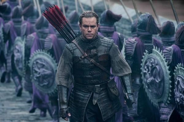 Cena do longa 'A Grande muralha', estrelando Matt Damon. (Universal/Divulgacao)