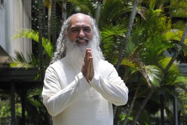 Sri Prem Baba lidera atividades ligadas ao autoconhecimento em Alto Paraíso (Minervino Junior/CB/D.A Press)