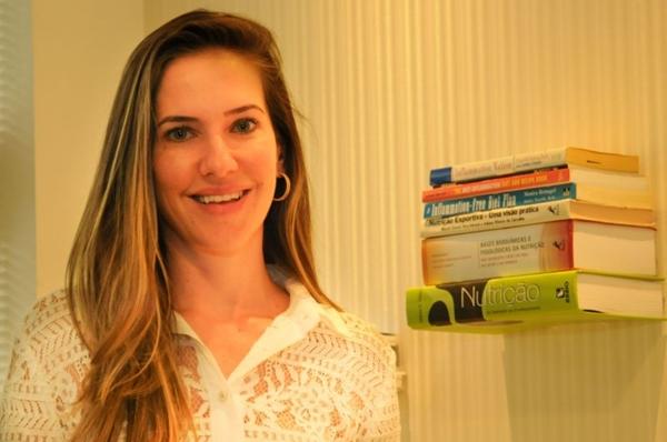 Comida de verdade purifica o organismo, acredita Joana Lucyk (Bárbara Cabral/Esp. CB/D.A Press)