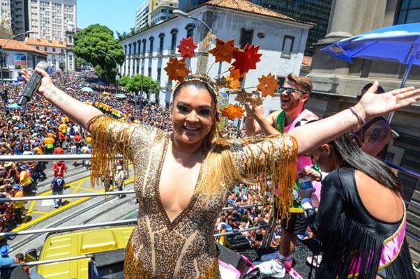 Preta Gil: Somos o bloco do amor ao próximo (Alexandre Vidal/Riotur)