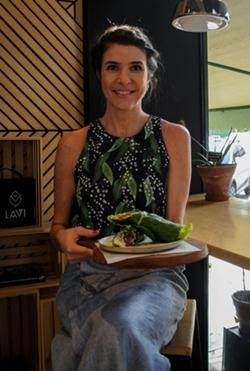 Renata Queiroz, do Lavi Detox, comercializa produtos sem glúten (Bárbara Cabral/Esp. CB/D.A Press)
