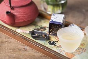 Uma centena de sabores de chás e infusões, todos orgânicos, são ponto forte da The Tea Shop (Marcelo Donadussi/Divulgação)