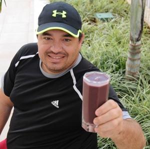 Leonardo Naves alia praticidade à saúde na Nathura fit (Bárbara Cabral/Esp. CB/D.A Press)