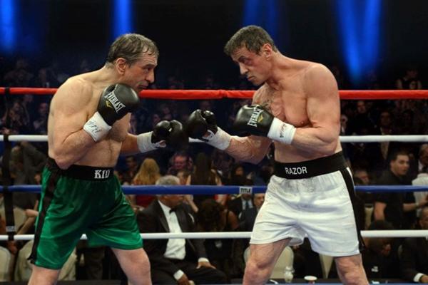 De Niro e Stallone dividem a cena em Ajuste de contas (Warner Bros/Divulgação)