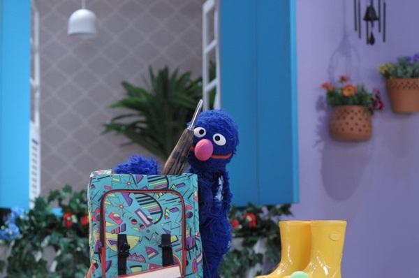 Come Come é um dos personagens mais conhecidos de Sésamo  (TV Brasil/Divulgação)